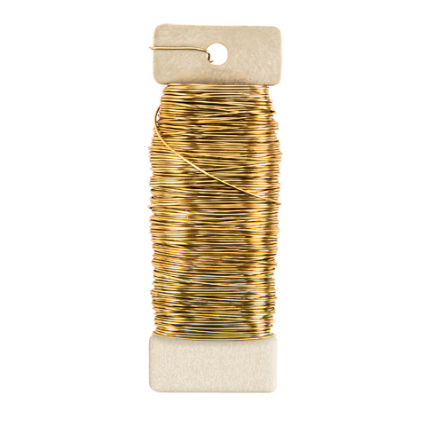 Paddle Wire - 22 gauge - Gold - .25 lb