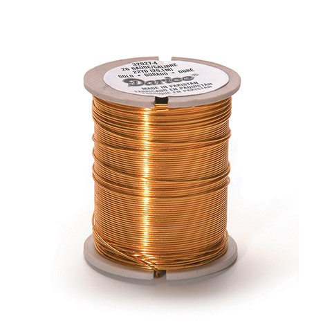 Beading Wire - 26 Gauge - Gold - 22 yards