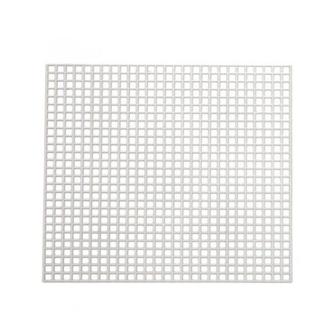 Plastic Canvas Shape - Square - 3 x 3 inches - 10 pieces