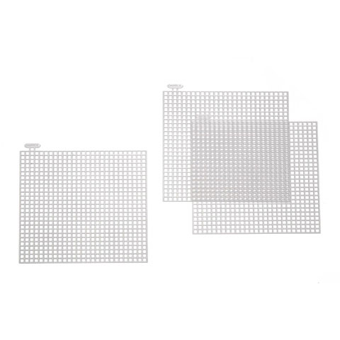 Plastic Canvas Shape - Square - 4 x 4 inches - 10 pieces