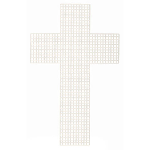 Plastic Canvas Shape - Cross - 3 inches - 10 pieces