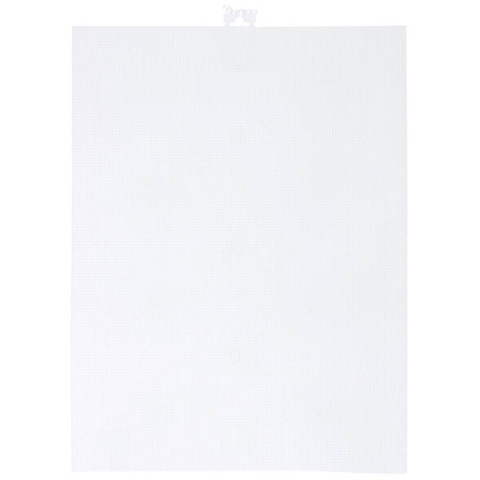 #14 Mesh Plastic Canvas - Clear - 11 x 8-1/2