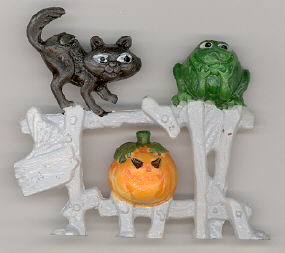 Mini Halloween - 2 inch - plastic