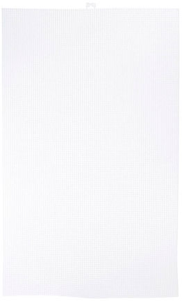 Mesh Plastic Canvas - Ultra Stiff - Clear - 13-5/8 x 22-1/2 - 1 sheet