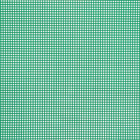 #7 Mesh Plastic Canvas - Xmas Green - 10.5 x 13.5