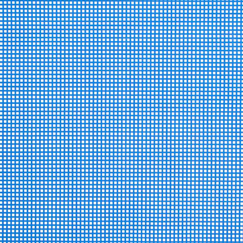 #7 Mesh Plastic Canvas - Dark Blue - 10.5 x 13.5