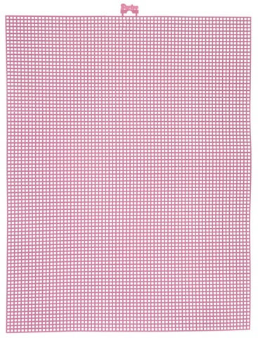 #7 Mesh Plastic Canvas - Dusty Rose - 10.5 x 13.5