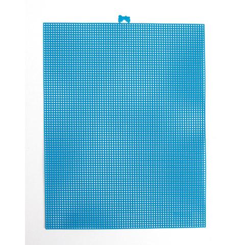 #7 Mesh Plastic Canvas - Seaglass - 10.5 x 13.5 inches
