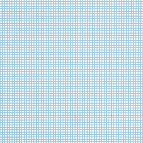 #7 Mesh Plastic Canvas - Light Blue - 10.5 x 13.5
