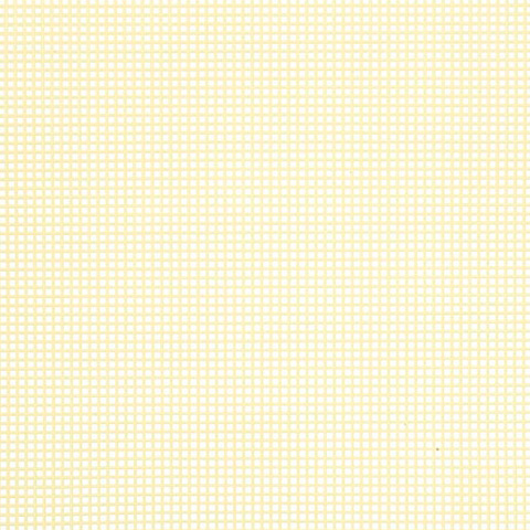 #7 Mesh Plastic Canvas - Yellow - 10.5 x 13.5