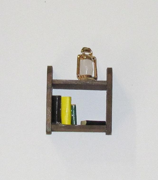 Wood Book Shelf - 2-1/4 inch - 1 piece