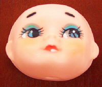 2-1/2 inch - Vintage - Dream Doll Face