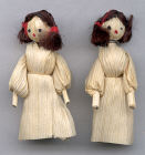 2 -1/4 inch Cornhusk Dolls- 12 pair per box
