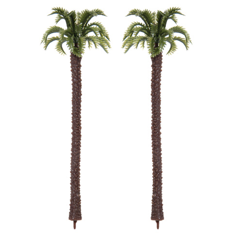 Diorama Tree - Palm - 5.125 inches - 2 pieces