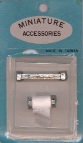 Vintage - Bathroom Fixtures - 1 1/4 inch long towel bar - 2 pieces