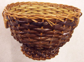 Compote Basket - 6-1/2 inch diameter x 4-1/2 inch high