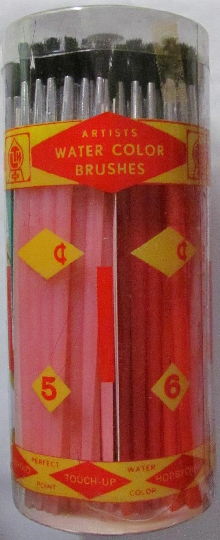Paint Brush Set - Assorted - 144 Pieces