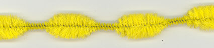 Flag Gold 1 inch Chenille Bumps