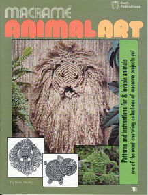 Macramé Animal Art