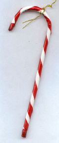 Candy Cane- 4 inch - 12 pieces