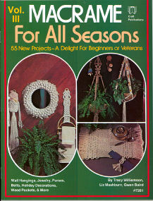 Macrame' For All Seasons Vol. III