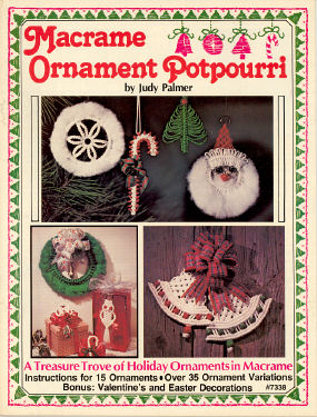 Macrame Ornament Potpourri
