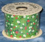 #40 Country Calico Ribbon - Green
