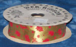 #9 Christmas Ornament Ribbon - Red/Green