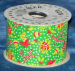 #40 Christmas Tyme Ribbon - Green