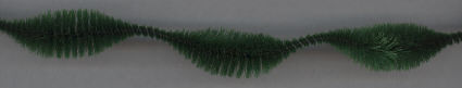 Dk. Green 2 inch Chenille Bumps