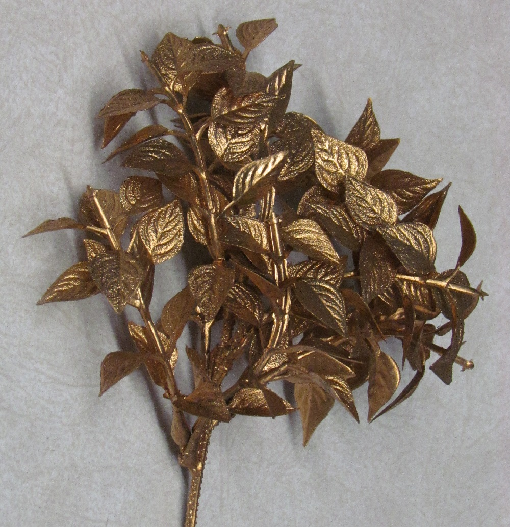Giant TiLeaf- Gold - 9 inch - 12 pieces.