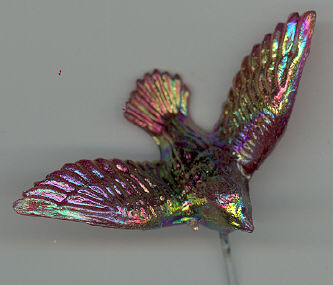 Iridescent Doves - Red