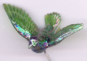 Iridescent Doves - Green