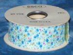 #9 Calico Rose Ribbon - Blue