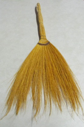Grass Broom - 24 inch - untrimmed - 1 piece.
