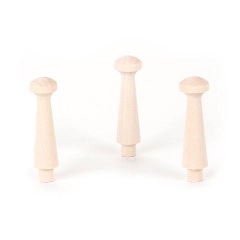 Shaker Pegs - Medium - 2-1/2 inches - 3 pieces