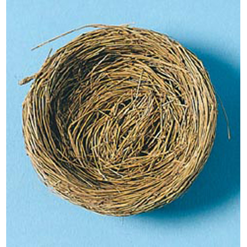 Bird Nest with Wire - 4 inches