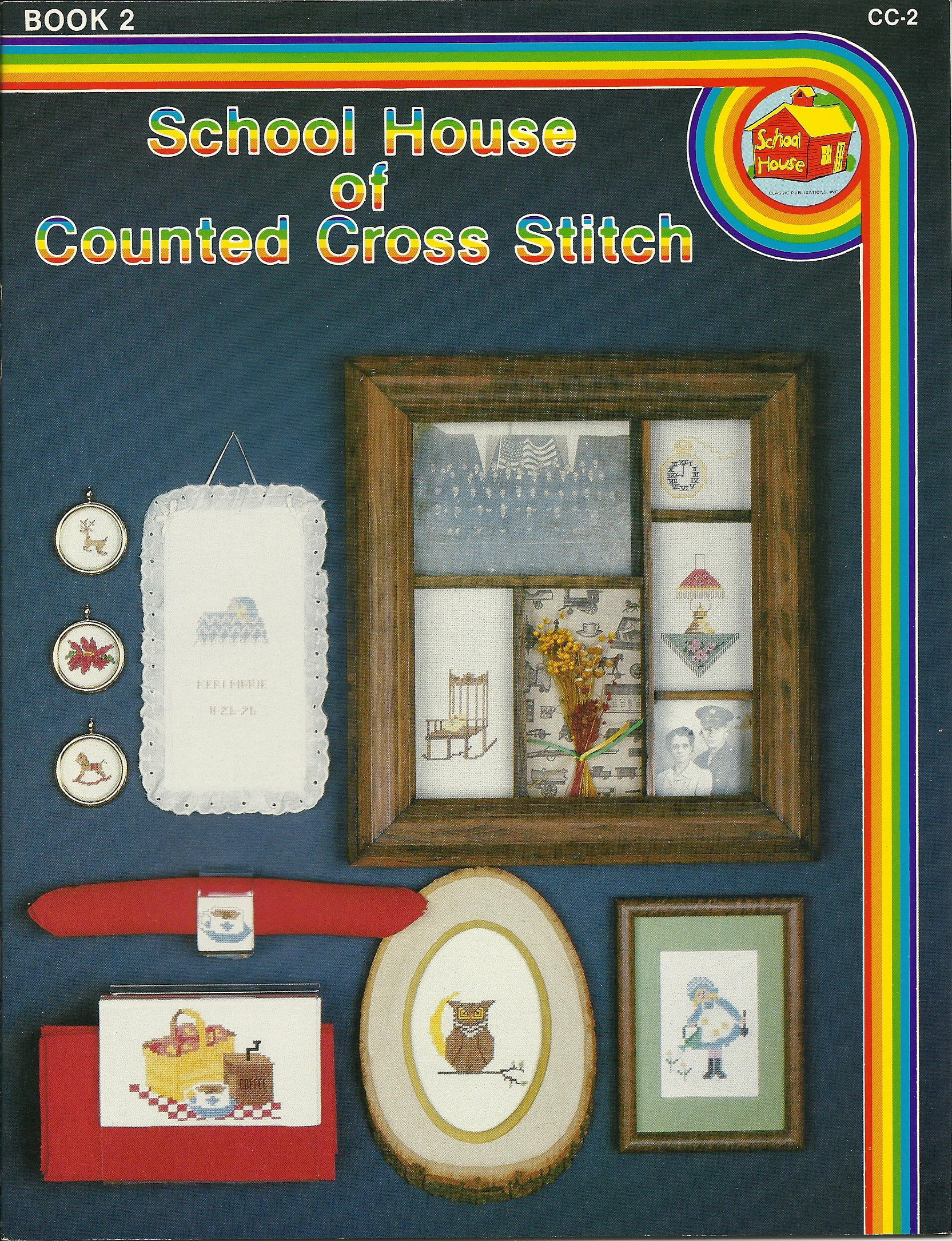 School House of Counted Cross Stitch  Book 2