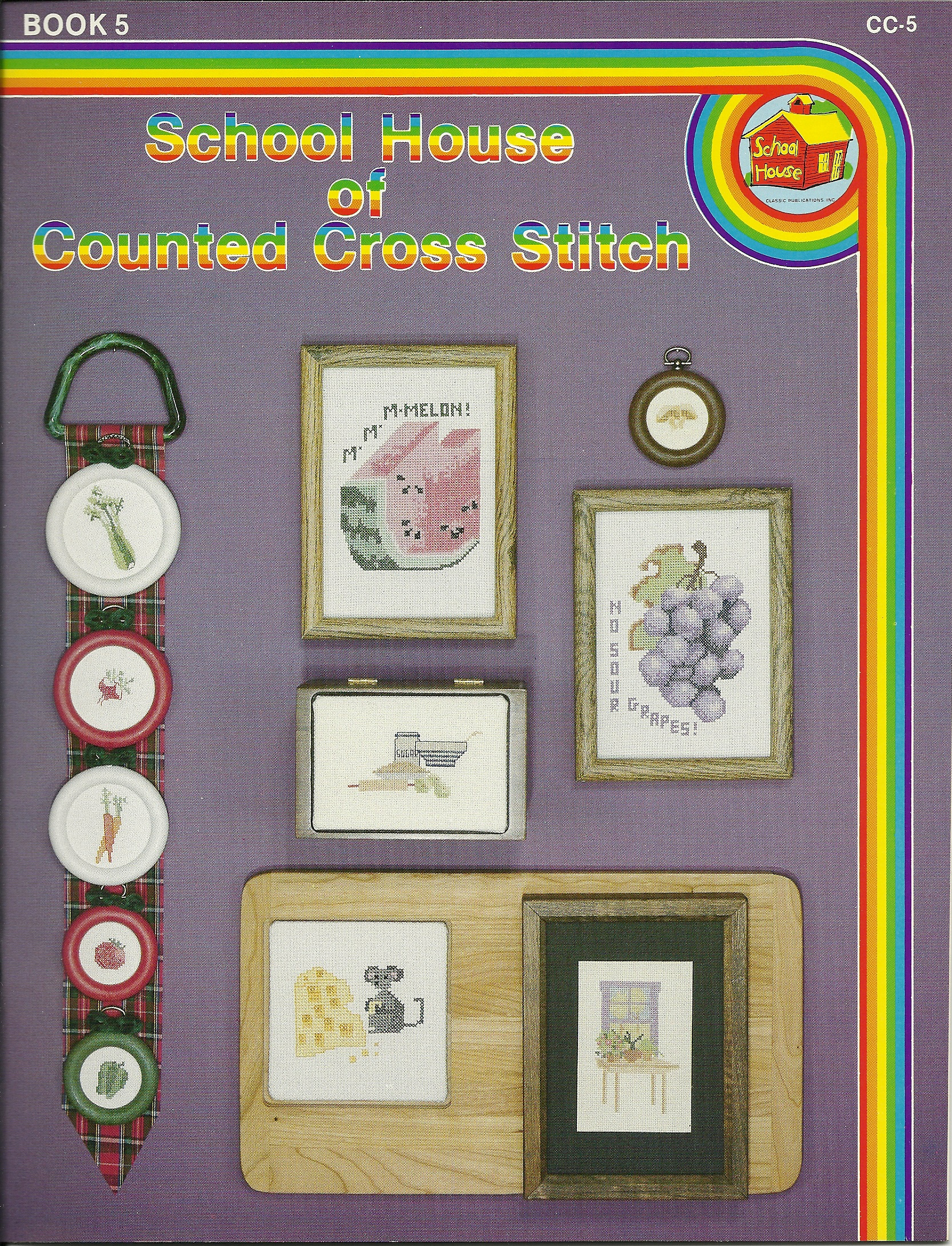 School House of Counted Cross Stitch  Book 5