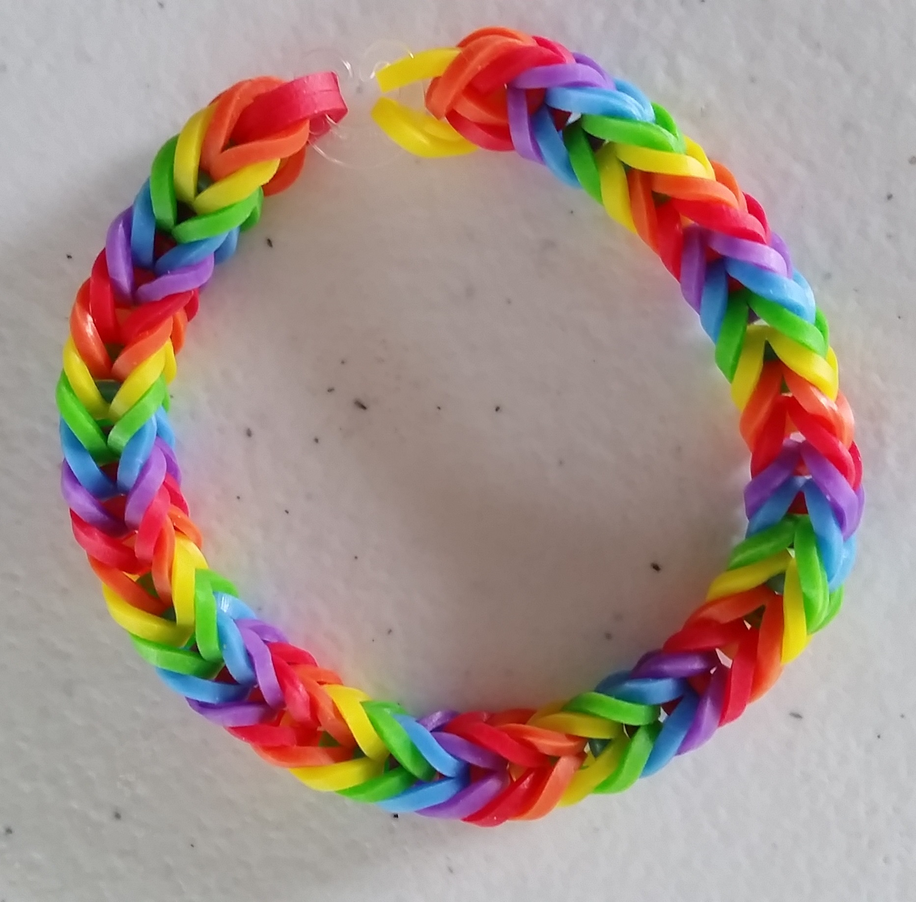 Rainbow - Single Bands - Fishtail Bracelet