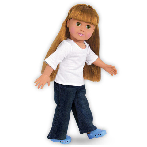 Springfield Collection Doll Outfit - T-Shirt and Jeans - 1 set