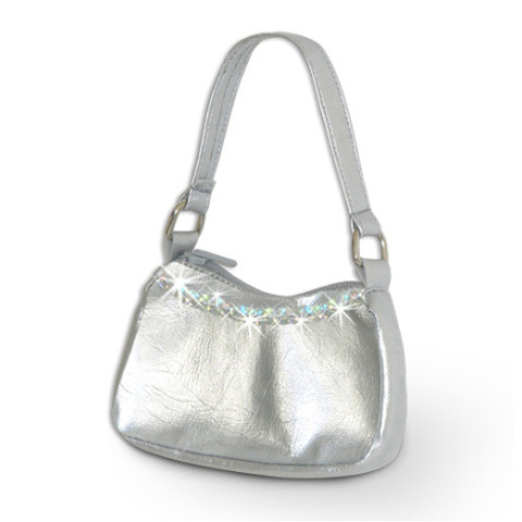 Springfield Collection Doll Accessories - Silver Purse