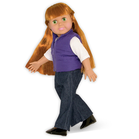 Springfield Collection Doll Accessories - Puffy Purple Vest