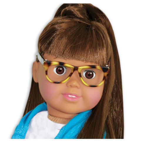 Springfield Collection Doll Accessories - Tortoise Glasses