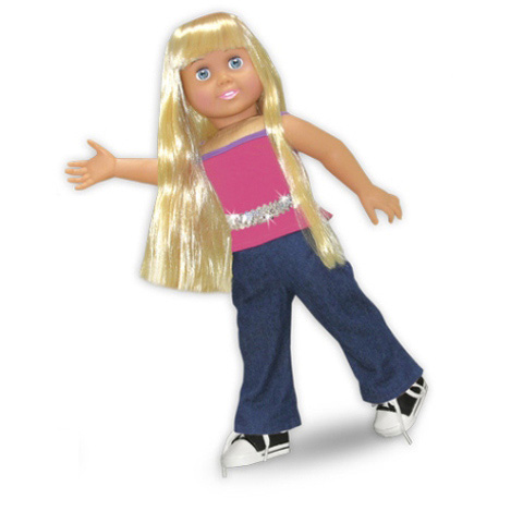 Springfield Collection Doll Clothes - Jeans and Tank with Belt and Shoes - 1 set
