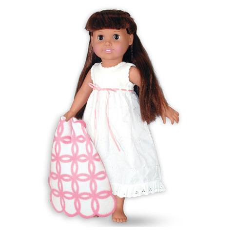 Springfield Collection Doll Clothes - Nightgown and Blanket - 1 set