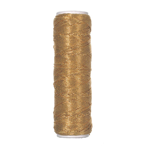 .75mm Elastic Cord - Gold - 36 yards