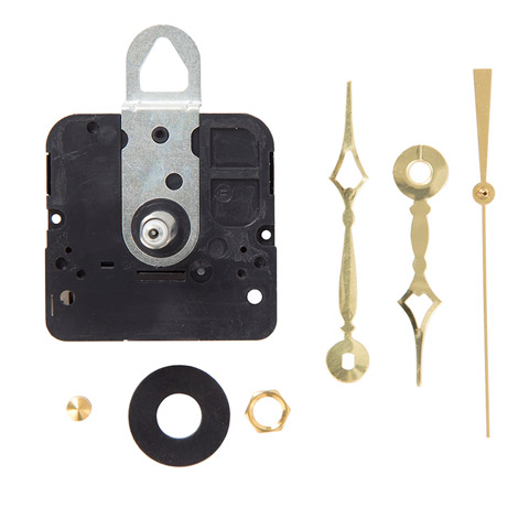 Clock Kit - Medium Stem - 7/16 inch qtz