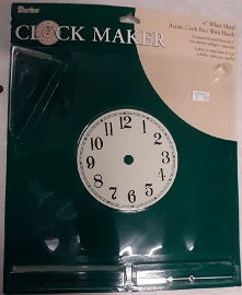 4 inch Clock Face with Hands