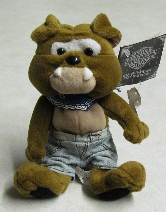 Spike - Harley-Davidson Bean Bag Plush